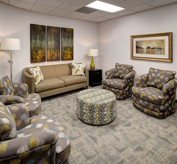 Gateway Conference Center groom's lounge