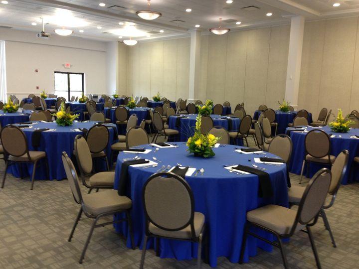 Gateway Conference Center ballroom reception
