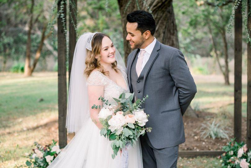Lovely Ivory Oak wedding