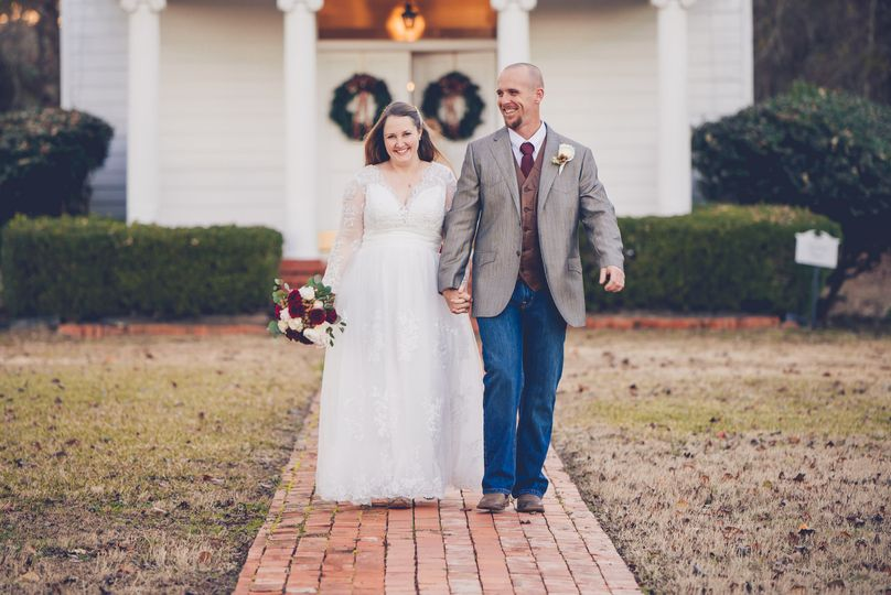 Wedding at Roseland Plantation