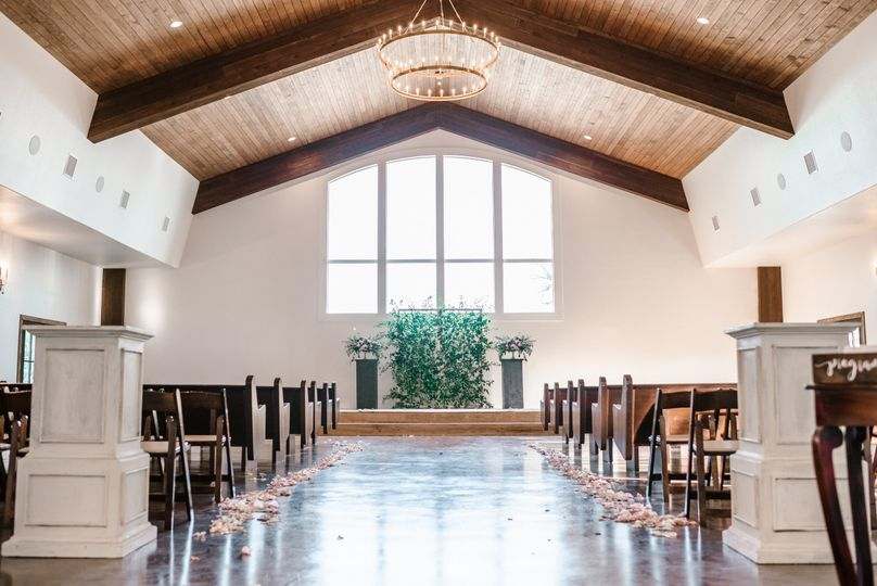 Inside our NEW Chapel