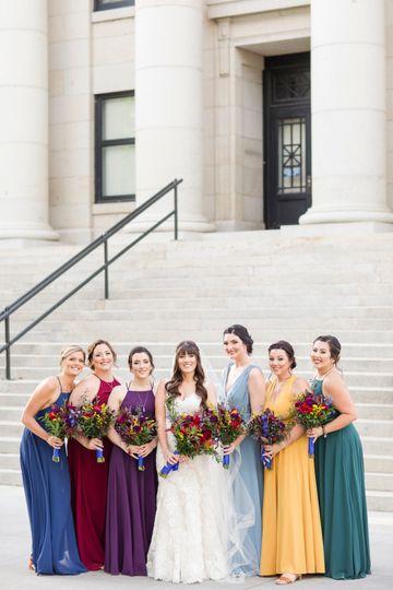 Prescott, AZ bridal party