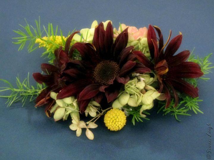 Tmx 1384134114397 Sunflower Wrist Corsag Greencastle wedding florist