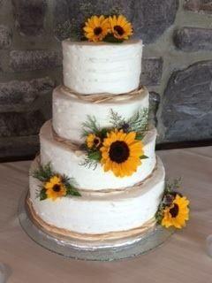 Tmx 1420939230140 Sunflower Cake Greencastle wedding florist