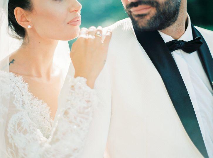 Elegant couple in Naoussa