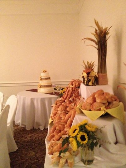 Pastries table