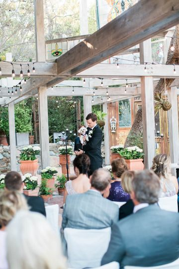 Outdoor reception| victoria chrystal photography