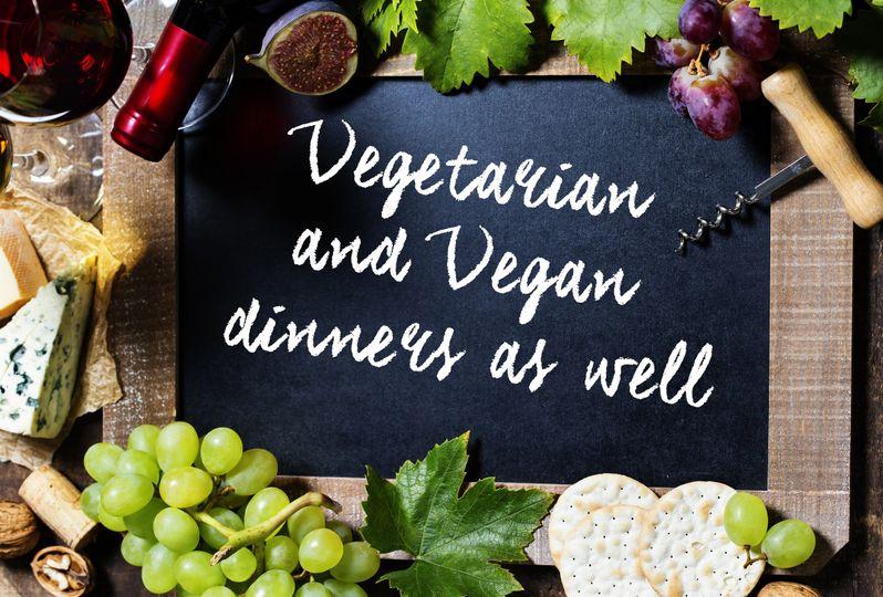 vegetarian adn vegan