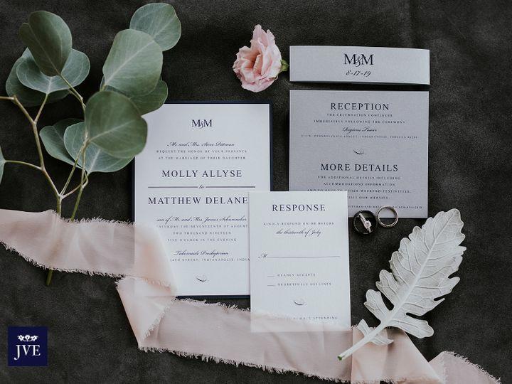 Tmx 2019 10 23 11 47 54 Molly Matt 51 577274 1572640928 Carmel, IN wedding invitation