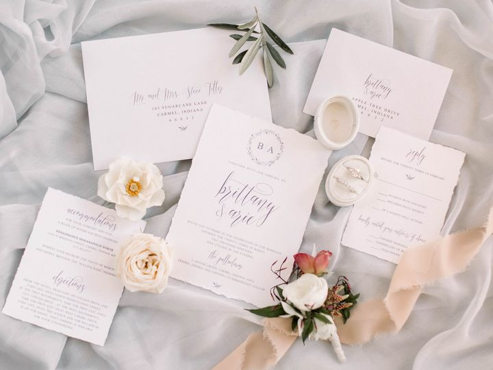 Tmx Danielle Harris Photography 66 51 577274 1572640947 Carmel, IN wedding invitation