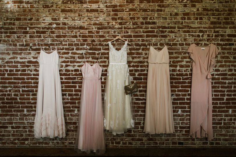 Bridal Suite Brick Wall