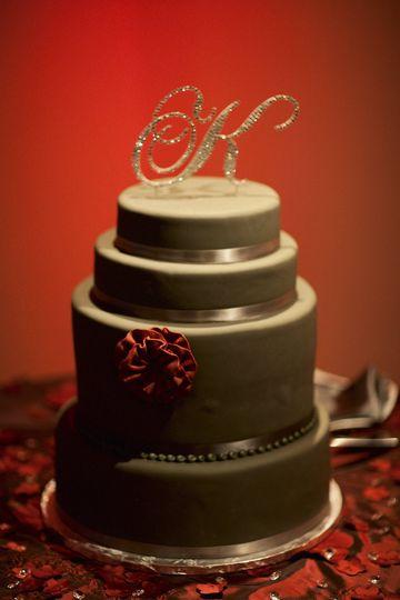 Multiple wedding cake