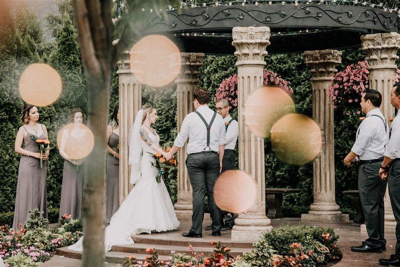 Le jardin nuptials