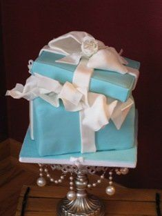 Tmx 1281390512663 Tiffanybox035 Johnstown wedding cake