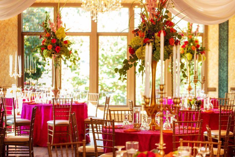 Coral Lily Ballroom