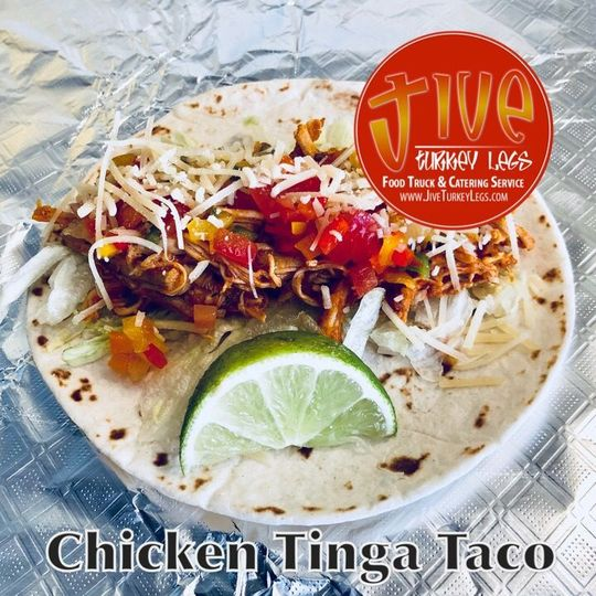 Chicken Tinga Taco