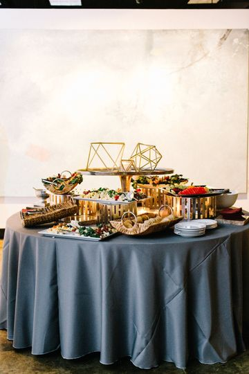 Wedding Appetizer Station