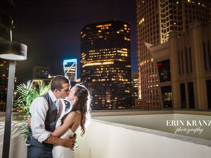 Tmx 1456418193513 Bride And Groom Kissing On The Roof Charlotte, NC wedding venue