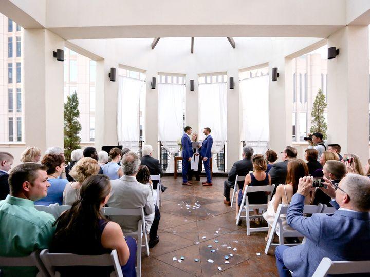 Tmx 1480539011139 Ceremony On Rooftop Siena Charlotte, NC wedding venue