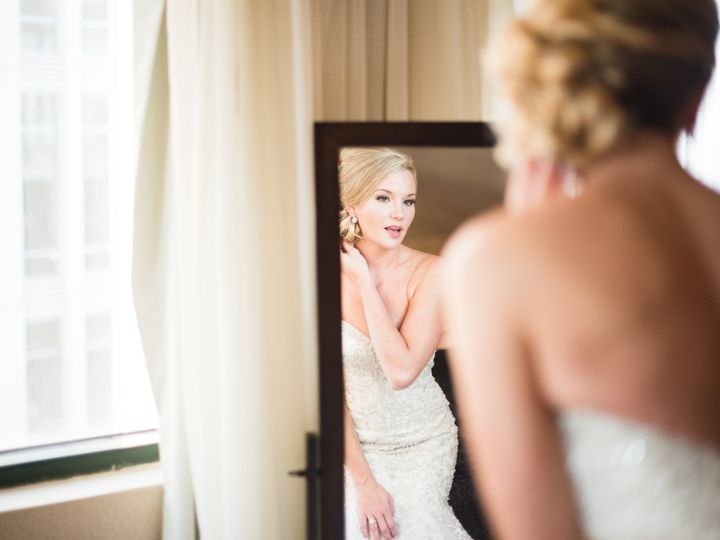 Tmx 1480697055180 Bride Looking Into Mirror Charlotte, NC wedding venue
