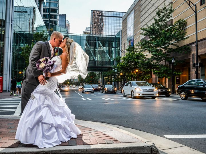Tmx 1483972951277 Bride And Groom Kissing On The Corner Charlotte, NC wedding venue