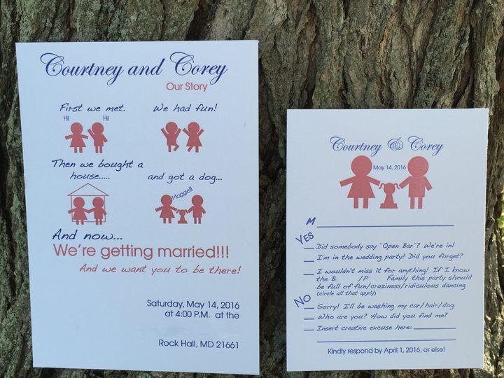 Tmx 1461167362892 Cc Chestertown wedding invitation