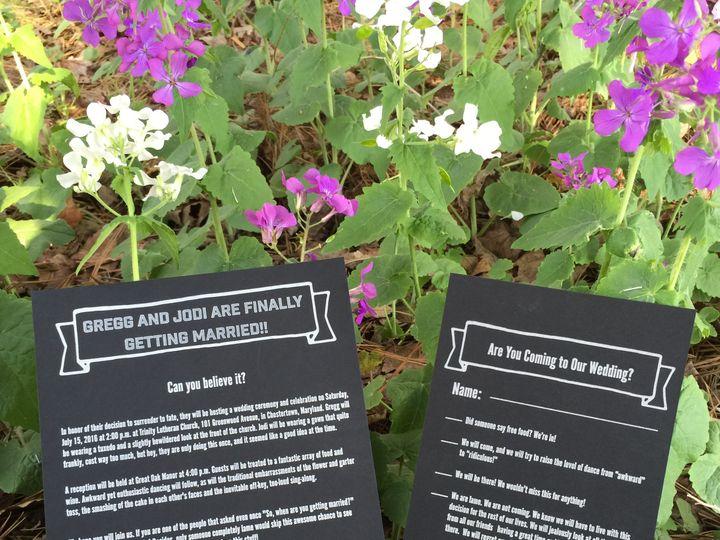 Tmx 1461167389998 Gj Flowers Chestertown wedding invitation