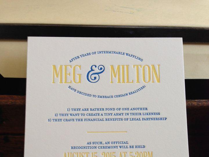 Tmx 1461169184470 Img3858 Chestertown wedding invitation
