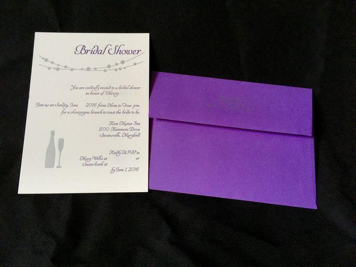 Tmx 1462391617944 Img0373 Chestertown wedding invitation