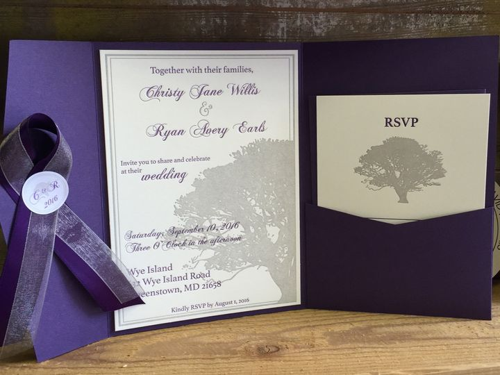 Tmx 1467716337463 Img5406 1 Chestertown wedding invitation