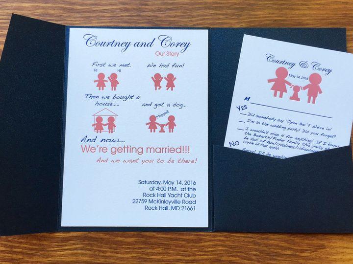 Tmx 1467716344299 Img5190 Chestertown wedding invitation