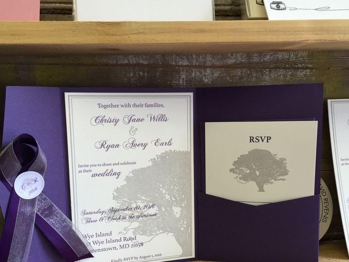 Tmx 1467716351820 Img5406 Chestertown wedding invitation