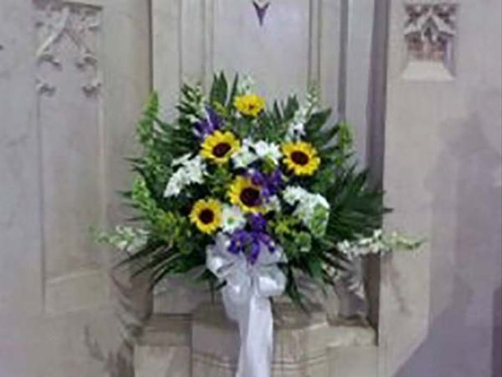 Tmx 1395353835812 Purpleyellowchurchwedding Bassett Weddings 60 New City, New York wedding florist
