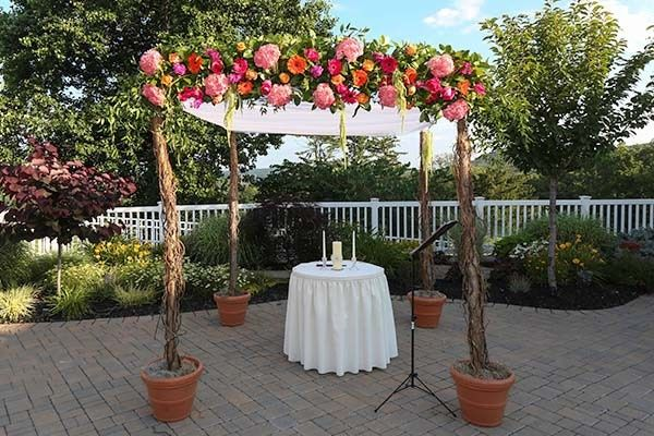 Tmx 1439931695272 Wedding Canopy Bassett Flowers Wedding New City, New York wedding florist