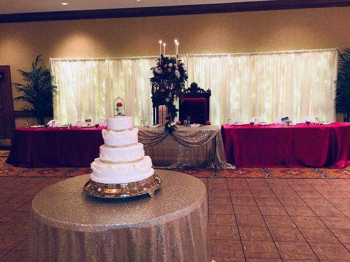 Cake & Head Table