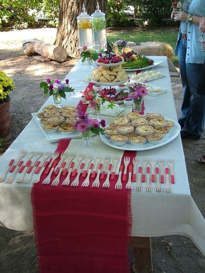Food for the guests