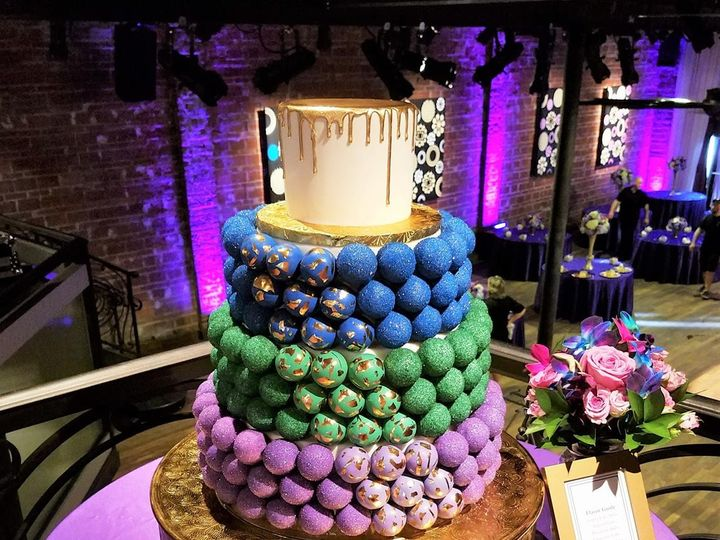 Tmx 1478016847979 Cake Pop Cake   Jewel Tones Logo Tampa, Florida wedding cake