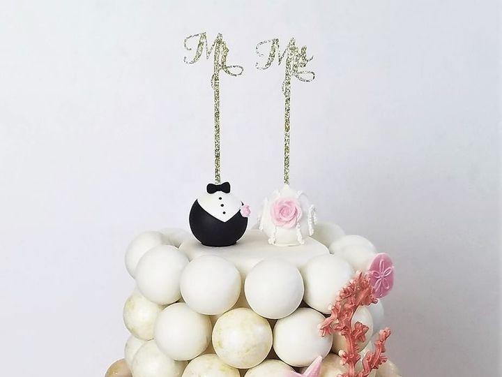 Tmx 1511207560550 Cake Pop Beach Cake Logo Tampa, Florida wedding cake