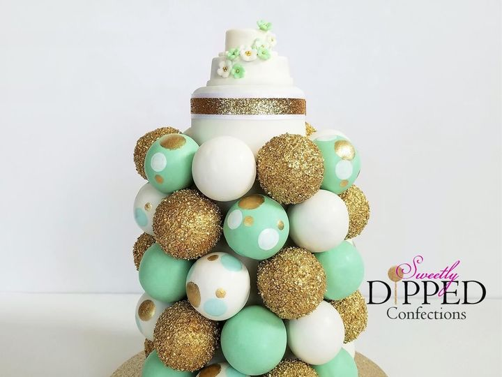 Tmx 1511207578675 Cake Pop Wedding Tower Logo Tampa, Florida wedding cake