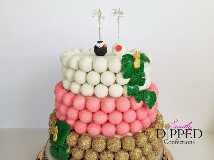 Tmx 1525790339 21c2e5191bba4530 1525790338 Fa8375bee5b5e5b8 1525790336103 1 Cake Pop Cake Tampa, Florida wedding cake