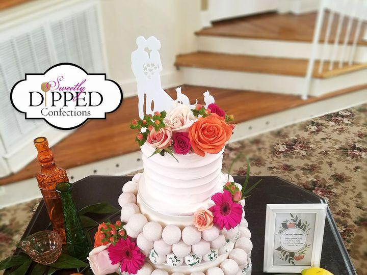 Tmx 1529903347 099f0af708b6b0d7 1529903344 4fae89fd25249076 1529903340988 2 20180608 155458 Tampa, Florida wedding cake