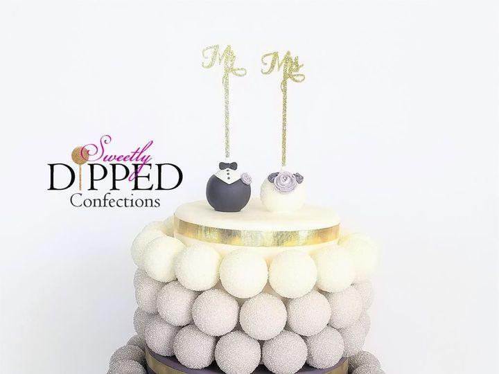 Tmx 1531797536 B9ae8a43d51cafcf 1531797535 5cfee1f7386a42de 1531797531240 1 Cake Pop Cake   Om Tampa, Florida wedding cake