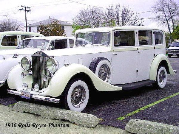 Flying Lady Division - Our 1936 Rolls Royce
