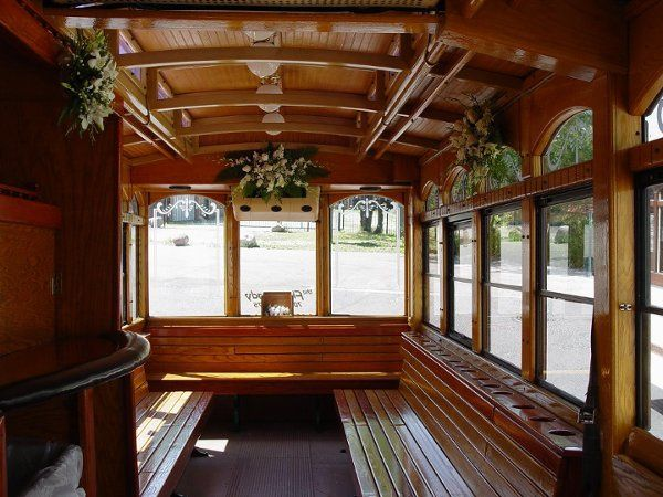 Flying Lady Division - One of our Vintage Trolley Interiors