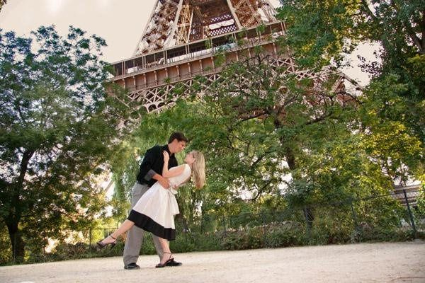 Engagement Session in Paris France
