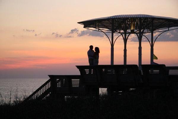Seaside, Florida wedding on the beach