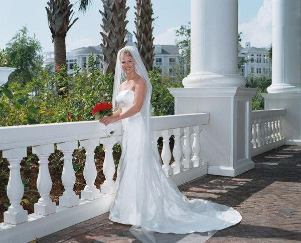 Bride at Baytowne Warf at Sandestin, Florida