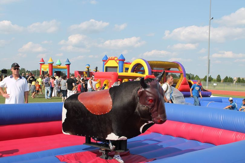 mechanical bull one