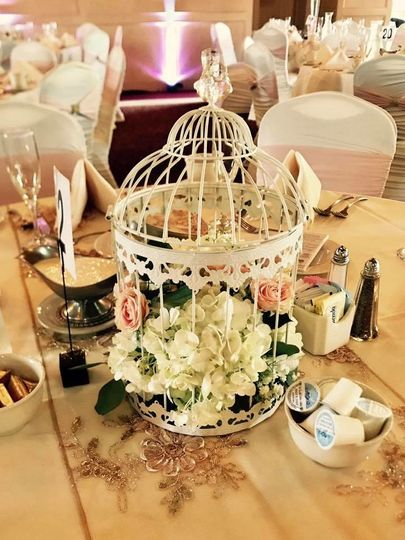 Centerpieces by posies by patti