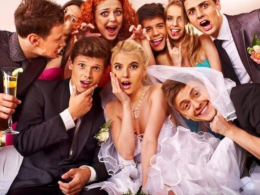 wedding goofy